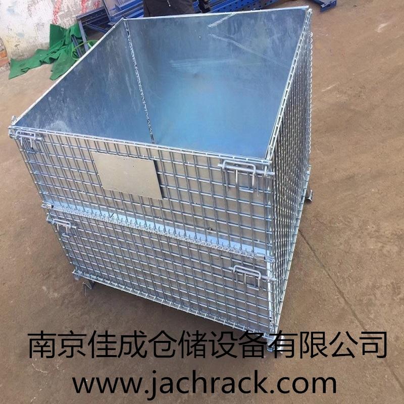 江西九江某机械加工工厂定制仓储笼顺利交付使用